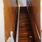Fourniture et pose d'un monte escalier droit sur la commune Les Ponts-de-Cé
