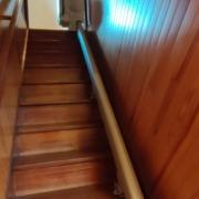 Fourniture et pose d'un monte escalier droit station debout sur la commune des Ponts de Cé